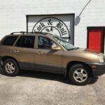 CURRENT AUCTION!- 2002 May 2019 Auction- Hyundai Santa Fe SUV